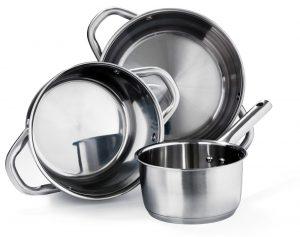 Stainless steel pan