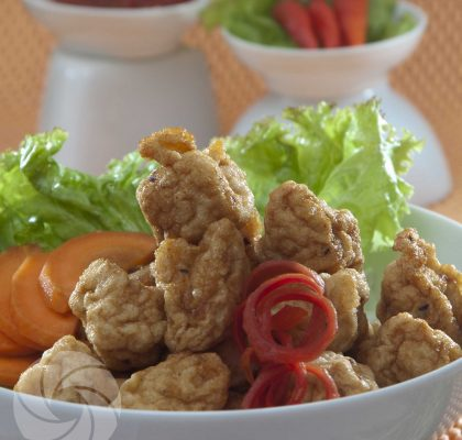 bakso seafood goreng
