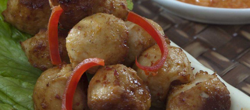 Resep Bakso Ayam Bakar