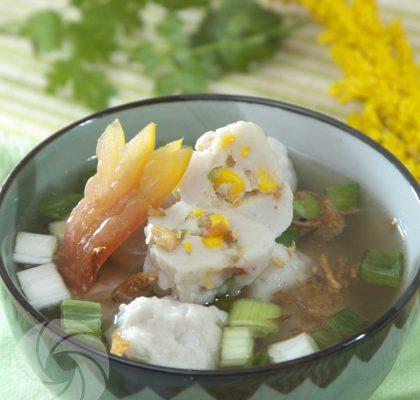 resep bakso ikan isi sayuran