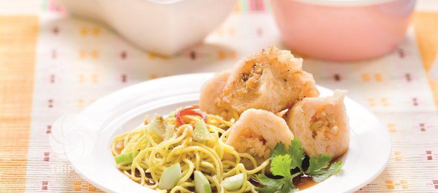 Resep Pempek Pastel Udang Ayam