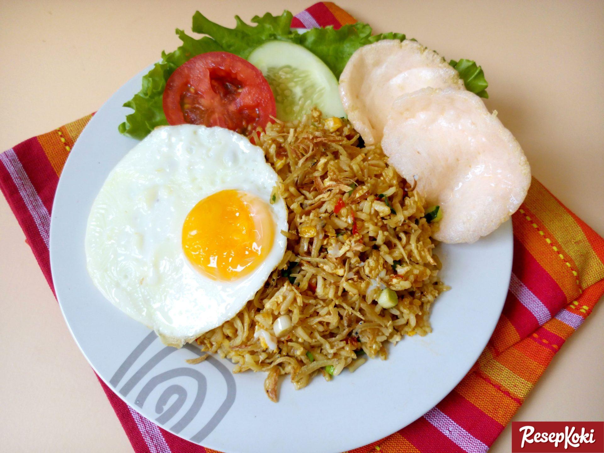 cara membuat nasi goreng teri nasi resep masakan ayam nasi