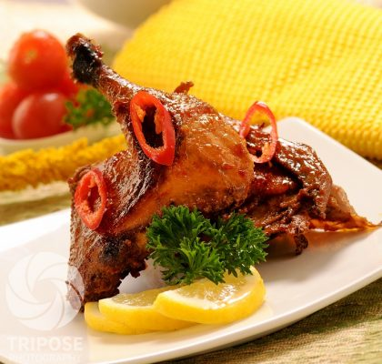 resep bebek panggang kecap