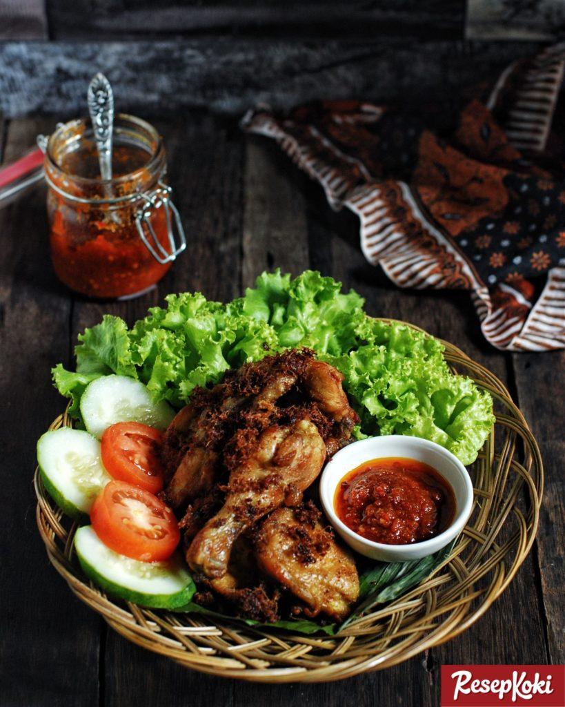 Ayam Goreng Lengkuas Lezat Dan Gurih Resep Resepkoki