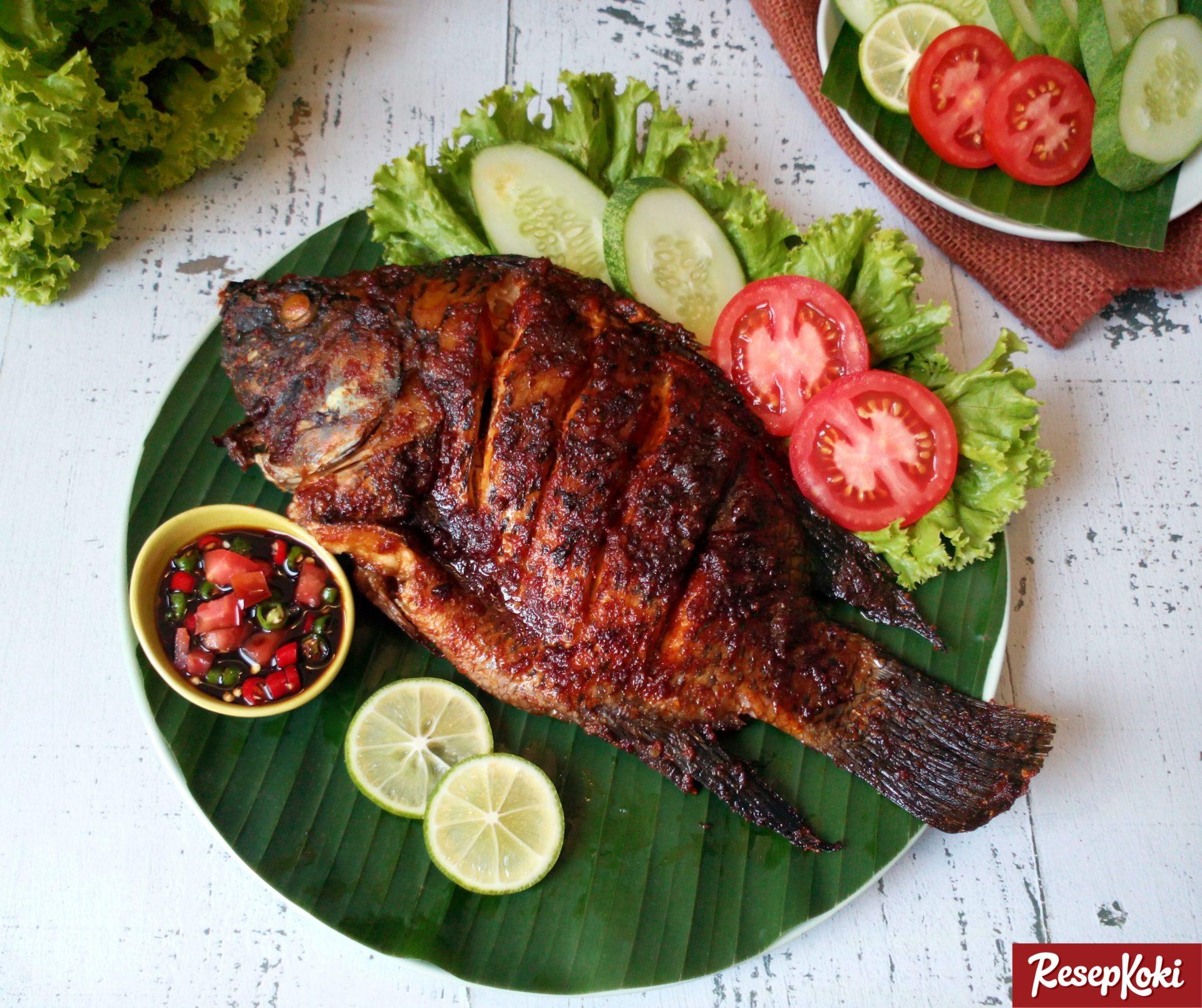 ikan mujair bakar kecap lezat dan bumbu meresap sempurna