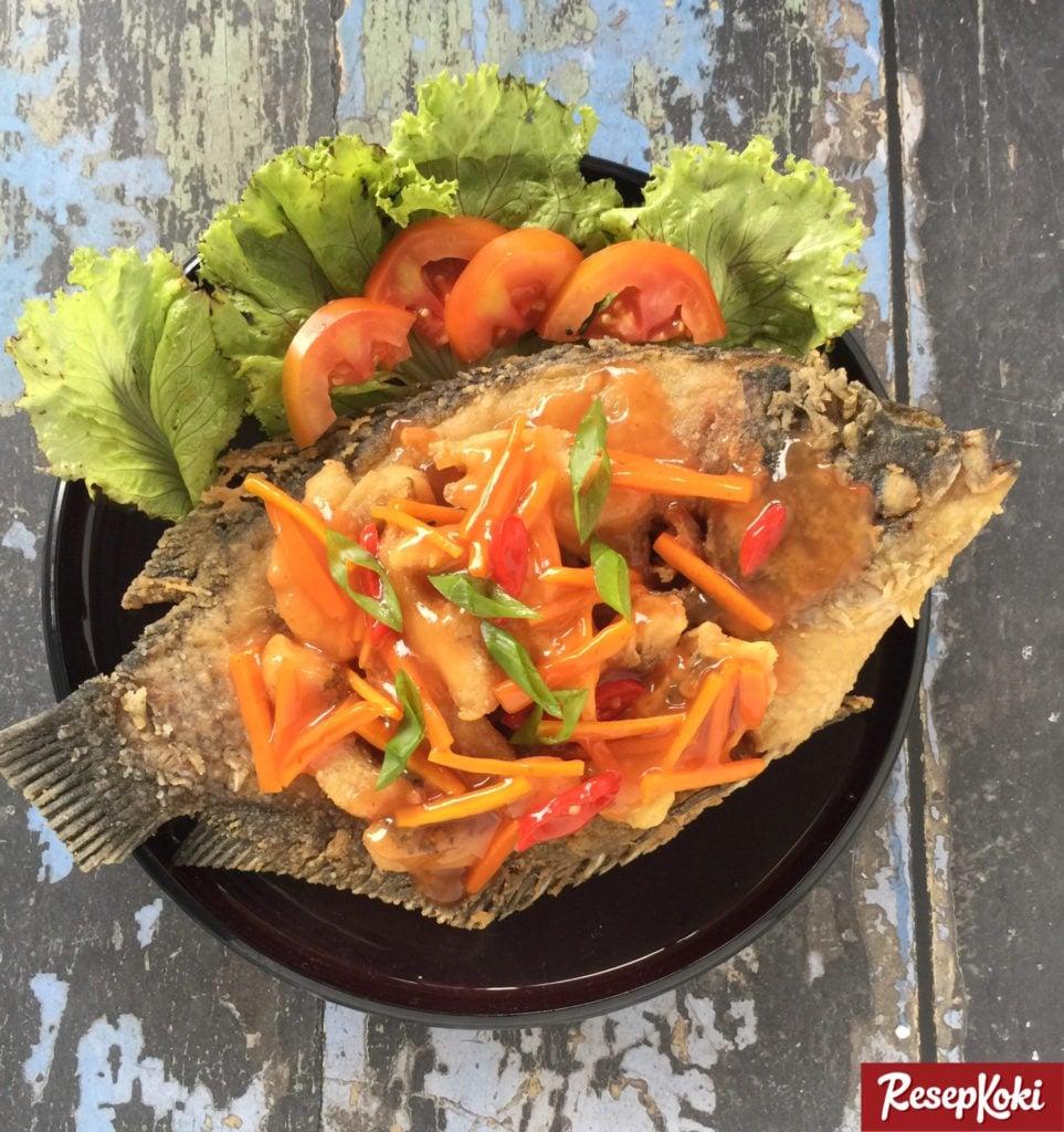 Ikan Gurame Fillet Asam Manis Juara Resep Resepkoki