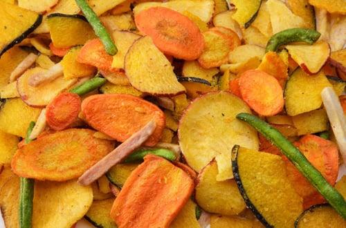 4 Cara Membuat Keripik Sayur dan Buah