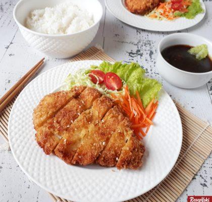 Chicken katsu teriyaki