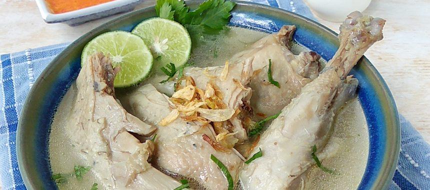 Resep Sop Ayam Kampung