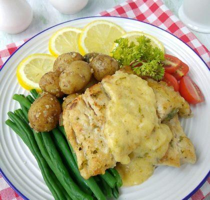 ikan dori panggang saus lemon