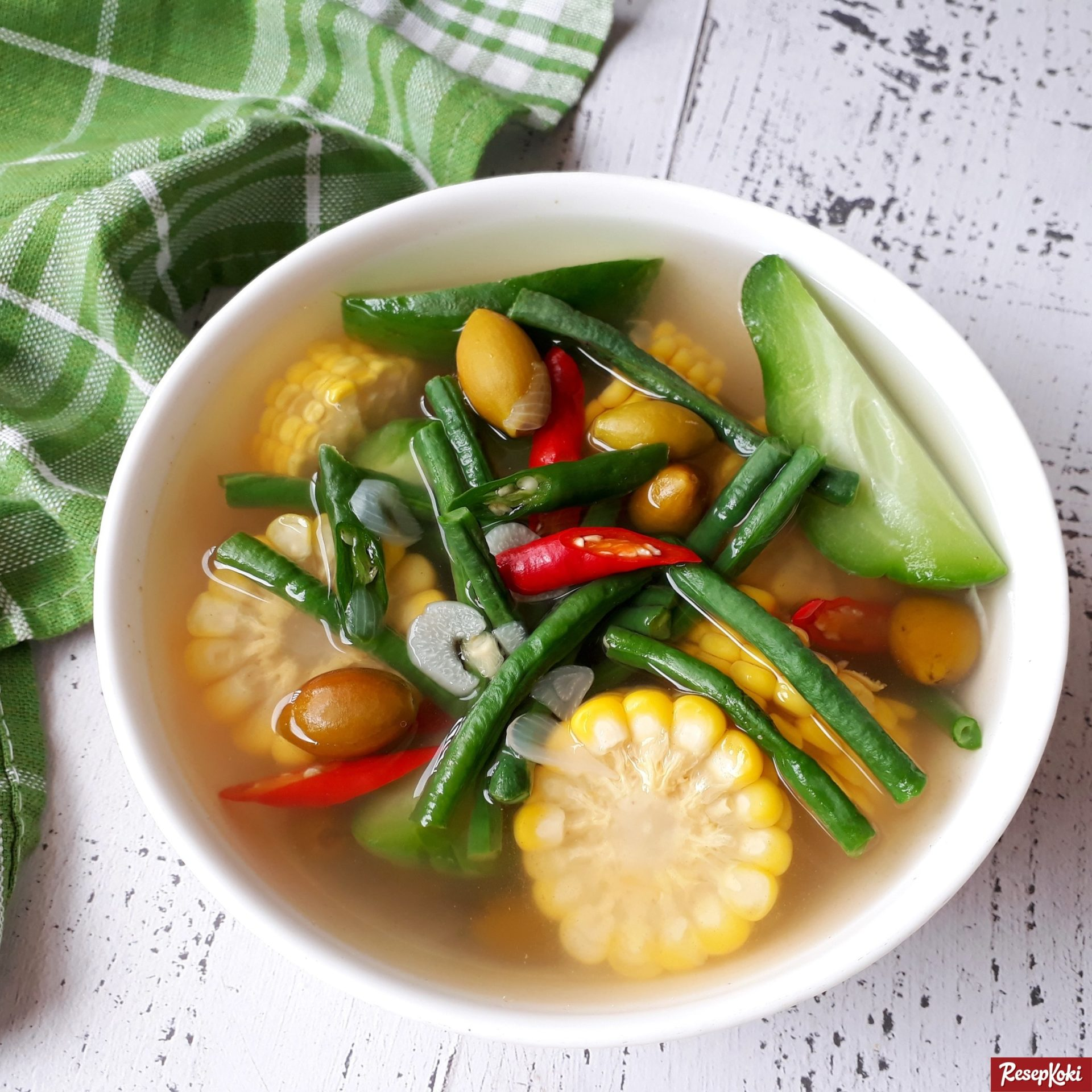 sayur asem bening dan simpel ala jawa tengah   resep