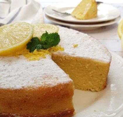 sponge cake lemon