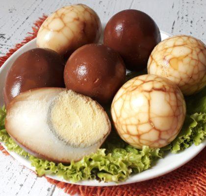 Telur pindang bumbu