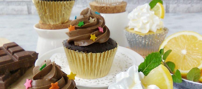 Resep Cupcake Coklat dan Lemon