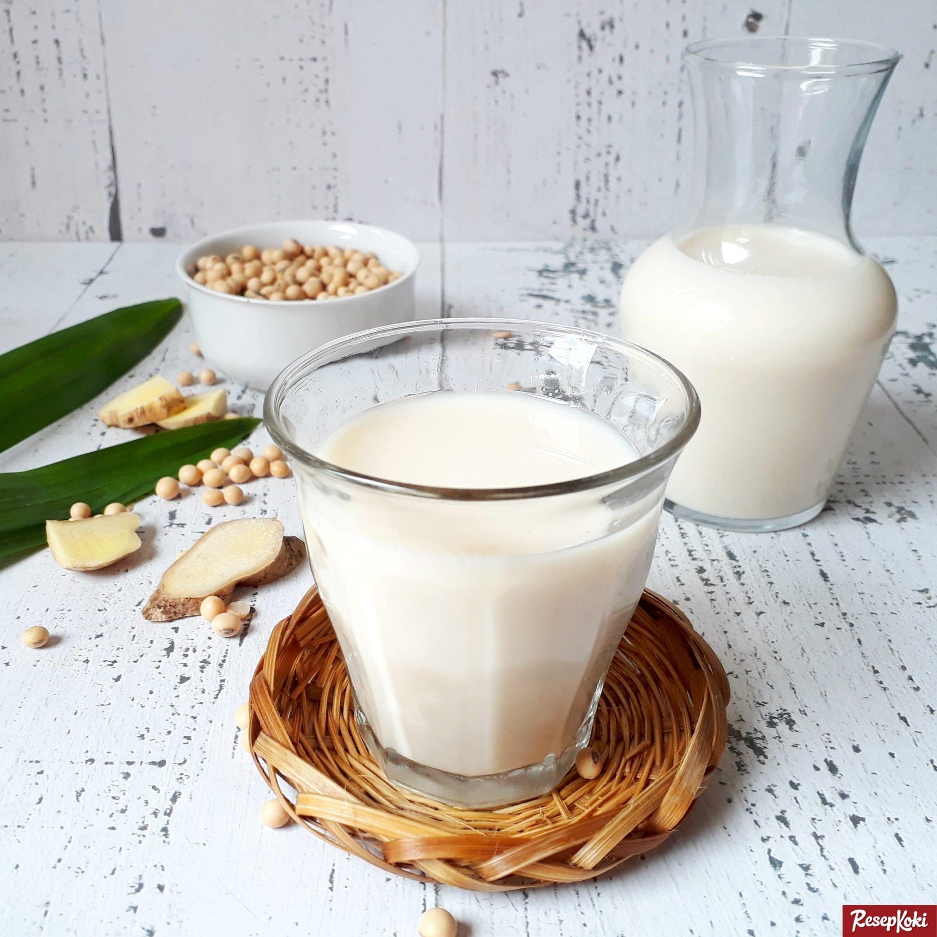Susu Kedelai Enak Praktis Tanpa Langu Higienis - Resep
