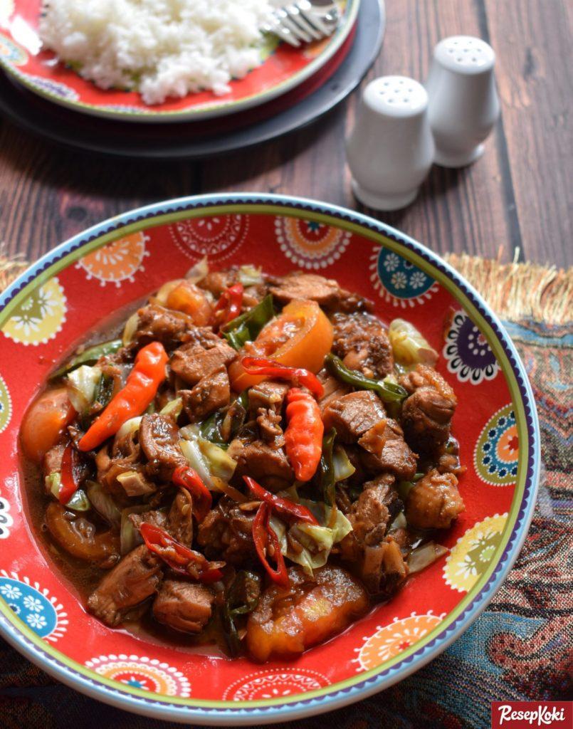 Resep Ayam Gongso
