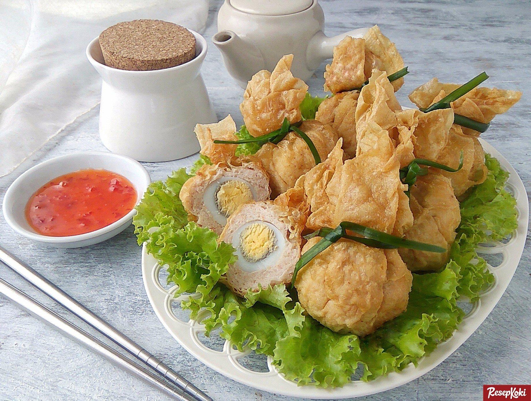 Resep Kue Ikan Jepang: Ekkado Renyah Gurih Nikmat Ala Jepang - Resep