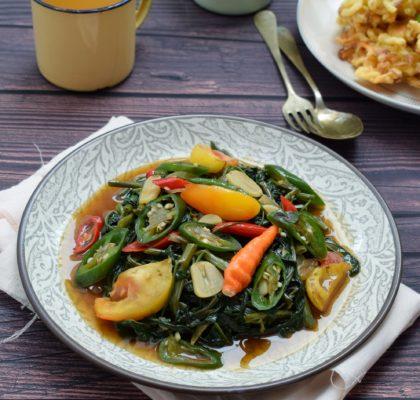 Kangkung tiram lezat
