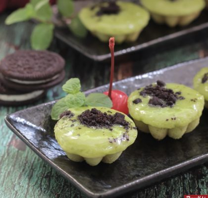 Kue Cubit green tea praktis