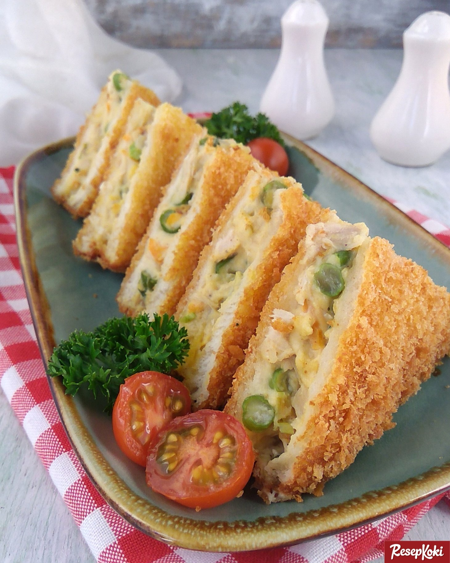 Roti Tawar Goreng Isi Ragout Krispi Mudah Dibuat - Resep | ResepKoki