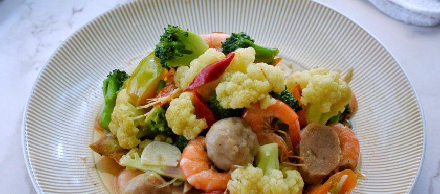 Resep Tumis Brokoli Kembang Kol