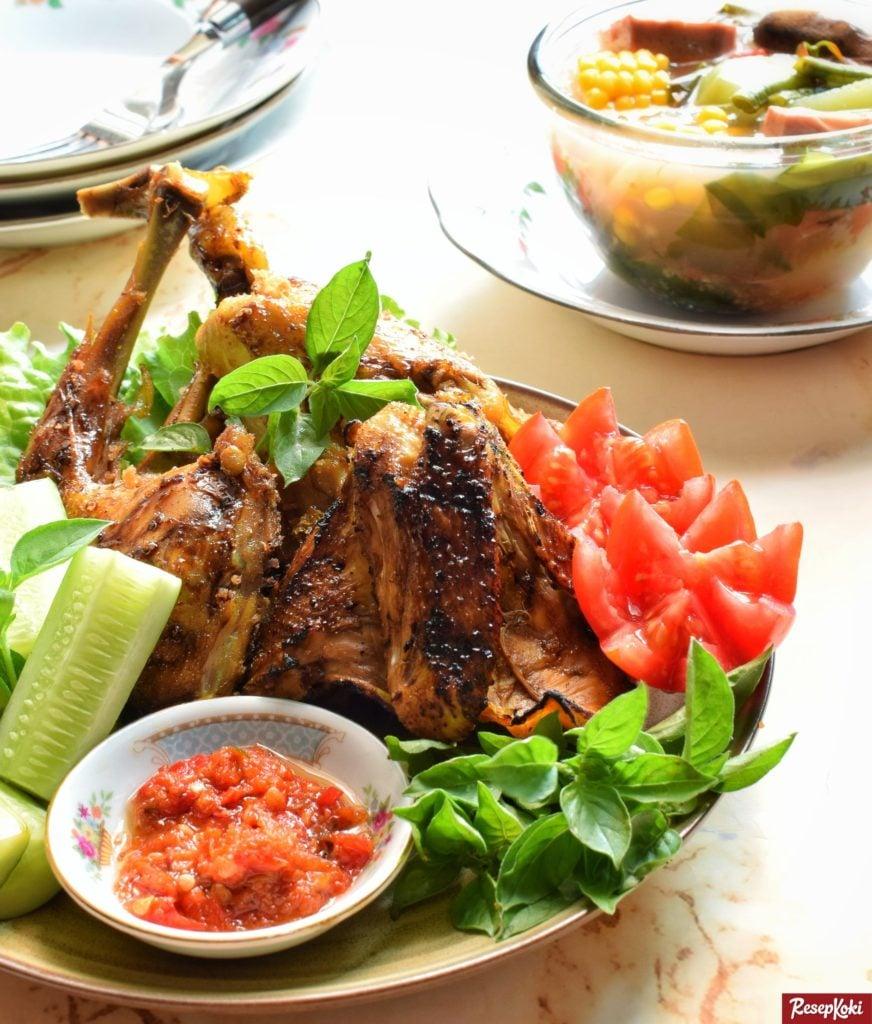 Ayam Bakar Bumbu Kuning Praktis Cepat Enak - Resep | ResepKoki