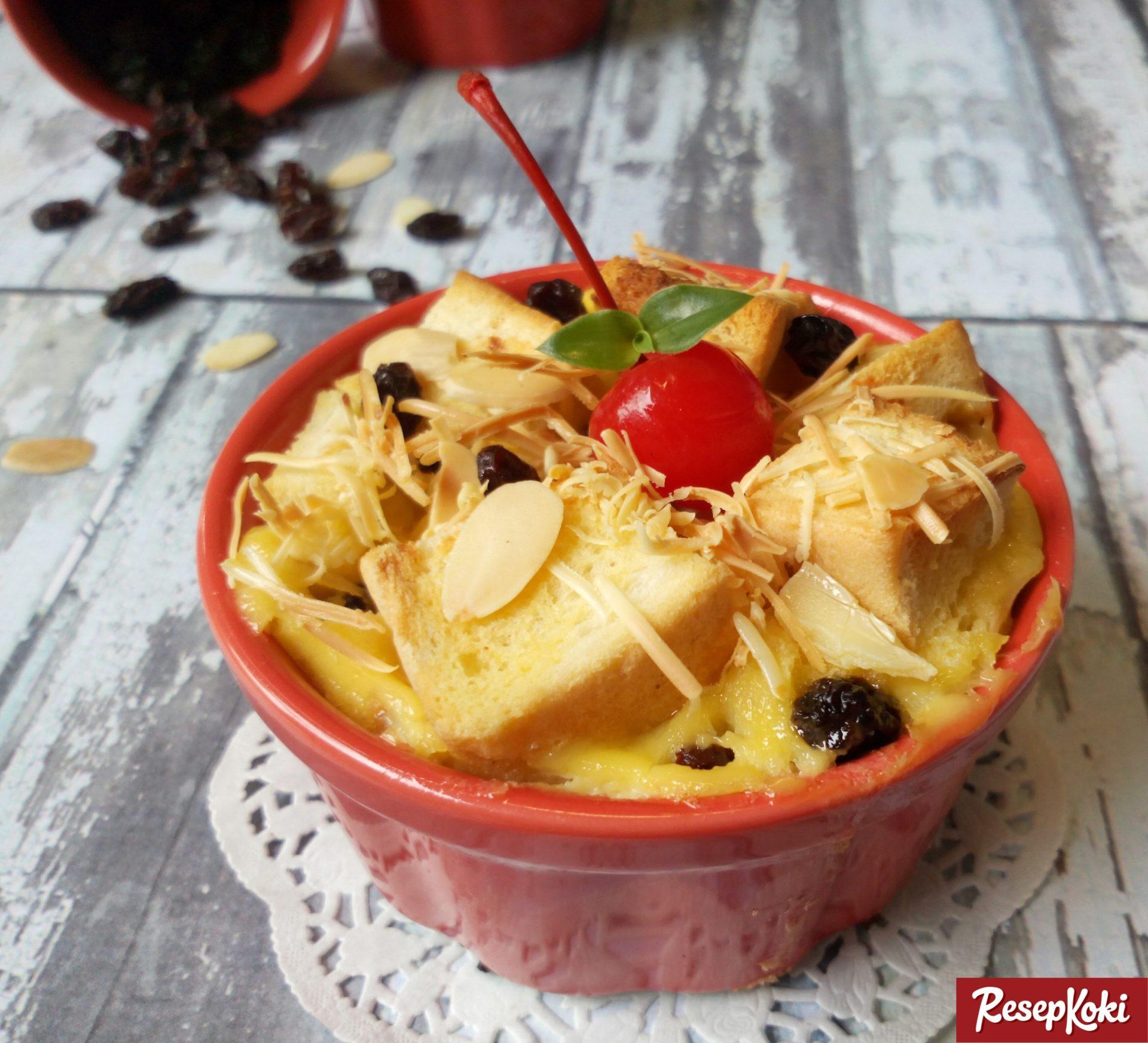 Resep Bread Pudding (Puding Roti Tawar)