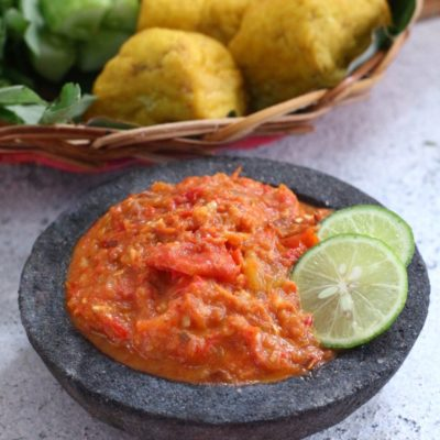 sambal tomat segar